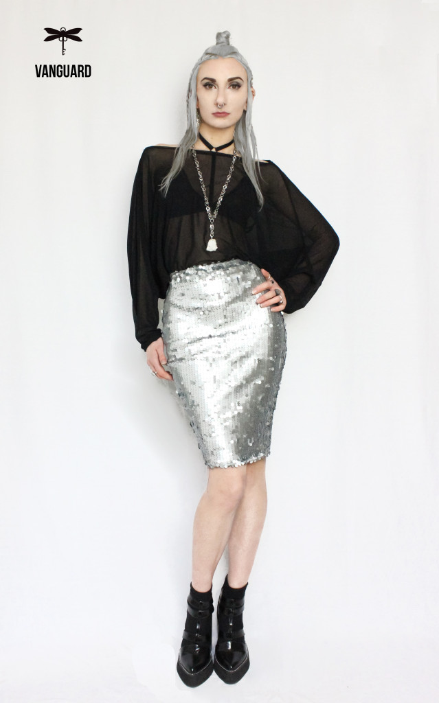 sequin skirt and batwing final