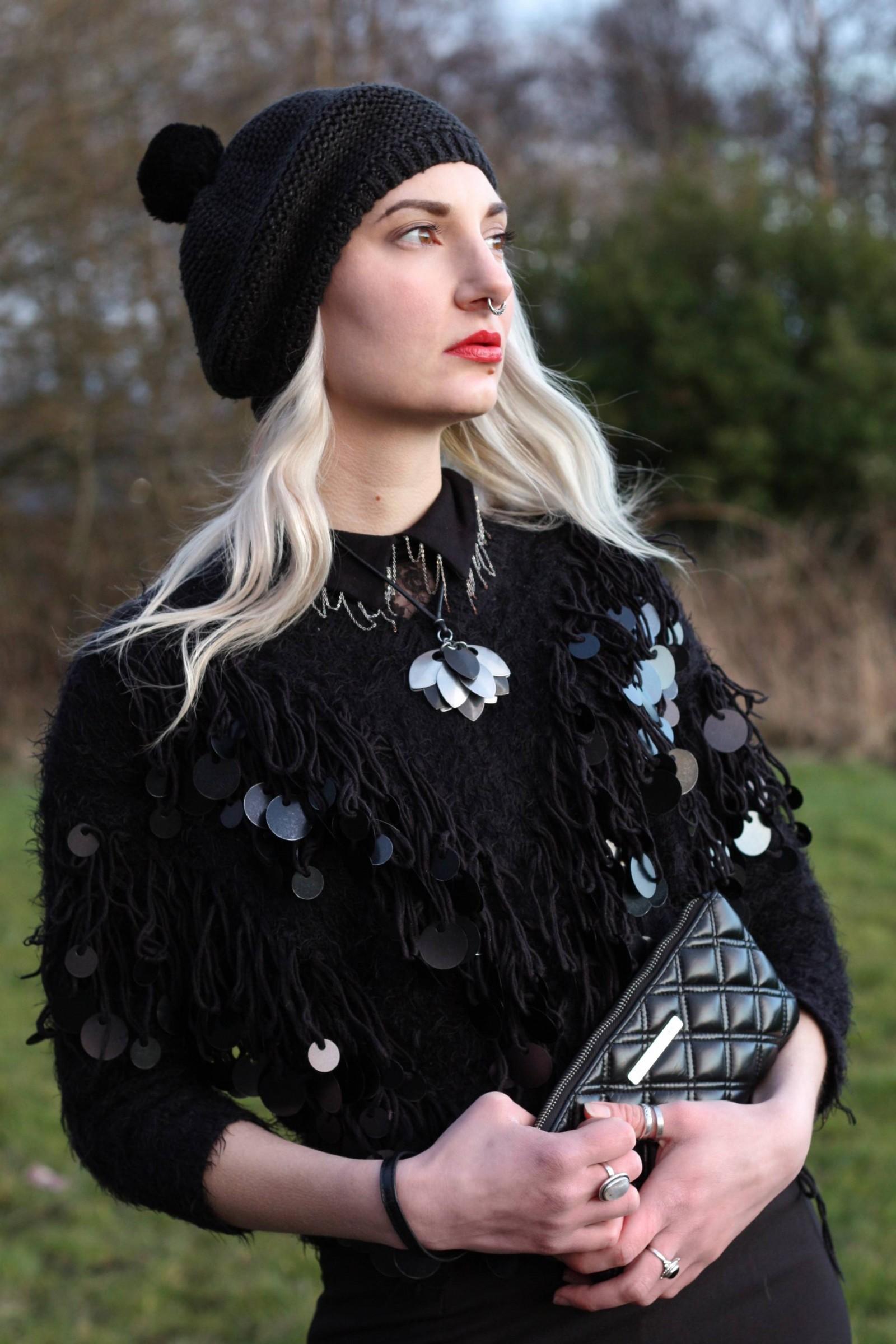 fashion blogger textured juper, arc jacobs clutch sunset 4